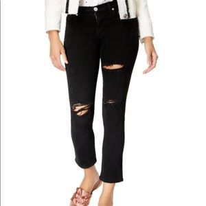 $235 NWT HUDSON jean ZOEEY high rise ankle ALL SZ